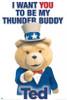Ted Thunder Buddy Poster Poster Print - Item # VARSCO3131