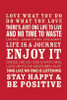 Quotes Life Poster Poster Print - Item # VARSCO30743
