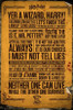 Harry Potter Quotes Poster Poster Print by - Item # VARXPE160538