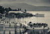 Tourboat at Sea of Galilee, Tiberias, Galilee, Israel Poster Print by Panoramic Images - Item # VARPPI155782