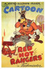 Red Hot Rangers Movie Poster (11 x 17) - Item # MOV198076