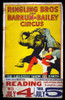 Circus Poster, C1950. /Nringling Brothers And Barnum & Bailey Circus Poster, C1950, When The Three-Ring Circus Still Performed Under A Tent. Poster Print by Granger Collection - Item # VARGRC0007498