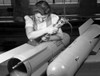 Flare Manufacture, 1942. /Nfactory Worker Stephanie Cewe, Assembling Flare Casings In A Former Toy Factory In New Haven, Connecticut, During World War Ii. Photograph By Howard R. Hollem, 1942. Poster Print by Granger Collection - Item # VARGRC0117983