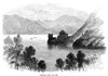 Scotland: Loch Ness, 1868. /Nurquhart Castle Overlooking Loch Ness. Wood Engraving, 1868. Poster Print by Granger Collection - Item # VARGRC0052966