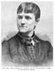 Mrs. W. Roebling, 1883. /Nmrs. Washington Augustus Roebling; Line Engraving, 1883. Poster Print by Granger Collection - Item # VARGRC0051733