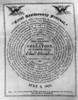 Collation Ticket, 1824. /Nticket To The Collation At Faneuil Hall In Boston, Issued By John Quincy Adams In Observance Of The 4Th Of July, 1824, With A Quotation By John Adams. Poster Print by Granger Collection - Item # VARGRC0106842