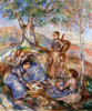 Renoir: Grape Pickers. /N'Grape Pickers At Lunch.' Oil On Canvas By Pierre Auguste Renoir, 1880S. Poster Print by Granger Collection - Item # VARGRC0104926
