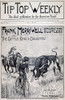 Dime Novel, 1897. /N'Frank Merriwell Among The Rustlers, Or The Cattle King'S Daughter.' Cover Of A Street & Smith Dime Novel Of 1897 In The 'Frank Merriwell' Series. Poster Print by Granger Collection - Item # VARGRC0008846