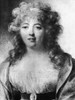 Madame De Stael (1766-1817). /Nanne-Louise-Germaine De Stael, Nee Necker. French-Swiss Writer And Critic. Drawing, 1787, By Jean-Baptiste Isabey. Poster Print by Granger Collection - Item # VARGRC0001572