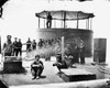 U.S.S. Monitor, 1862. /Nsoldiers On The Deck Of The U.S.S. Monitor. Photographed At James River, Virginia, By James F. Gibson, 9 July 1862. Poster Print by Granger Collection - Item # VARGRC0064486