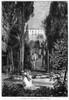 Italy: Tivoli. /N'Gardens Of The Villa D'Este, Tivoli.' Wood Engraving, 19Th Century. Poster Print by Granger Collection - Item # VARGRC0033711
