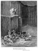 Dante: Inferno. /Nwood Engraving, 1861, After Gustave Dore. Poster Print by Granger Collection - Item # VARGRC0006877