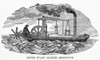 Orukter Amphibolos , 1804. /Namerican Inventor, Oliver Evans' 'Amphibious Digger.' Wood Engraving, 19Th Century. Poster Print by Granger Collection - Item # VARGRC0069186