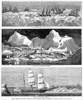Whaling Fleet In Ice, 1876. /Na Whaling Fleet Stuck In Arctic Ice. Wood Engravings From An American Newspaper Of 1876. Poster Print by Granger Collection - Item # VARGRC0088300