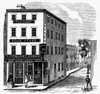 Bookstore, 19Th Century. /Nwood Engraving, American, Mid-19Th Century. Poster Print by Granger Collection - Item # VARGRC0044688