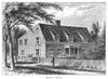 Bowne House, 1661. /Nthe Bowne House, Built In 1661 By John Bowne In Flushing, New York, Which Became A Quaker Refuge And Meetinghouse. Engraving, American, 19Th Century. Poster Print by Granger Collection - Item # VARGRC0322326
