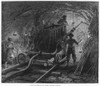 Mont Cenis Tunnel, 1869. /Nmen With Boring Machine Working On The Mont Cenis Railway Tunnel In The Alps Between France And Italy./Nwood Engraving, English, 1869 Poster Print by Granger Collection - Item # VARGRC0089403