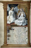 The Annunciation. /Nillumination From A French Book Of Hours, C1495-1500. Poster Print by Granger Collection - Item # VARGRC0026328