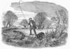 Trolling For Jack, 1850. /Nwood Engraving, English, 1850. Poster Print by Granger Collection - Item # VARGRC0101386