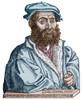 Niccol_ Tartaglia /N(1500?-1557). Italian Mathematician. Woodcut From The Title-Page Of La Prima Parte Del General Trattato, Venice, 1556. Poster Print by Granger Collection - Item # VARGRC0068976