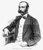John S. Rarey (1828-1866). /Namerican Horse Trainer. Wood Engraving, American, 1861. Poster Print by Granger Collection - Item # VARGRC0070911