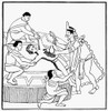 Mexico: Aztec Sacrifice. /Nhuman Sacrifice, After An Aztec Codex. Poster Print by Granger Collection - Item # VARGRC0027231
