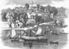 Saratoga: Resort, 1862. /Nthe Lake House, A Resort At Saratoga Lake, New York. Wood Engraving, 1862. Poster Print by Granger Collection - Item # VARGRC0097660