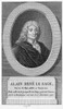 Alain Rene Lesage /N(1668-1747). French Novelist And Playwright. Line Engraving, French, 18Th Century. Poster Print by Granger Collection - Item # VARGRC0069663