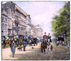 London: Piccadilly, 1895. /Na Scene In Piccadilly, London, England. Line Engraving, 1895. Poster Print by Granger Collection - Item # VARGRC0088353