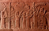 Assyrian Queen, 645 B.C. /Nqueen With Attendants Feasting In A Garden. Assyrian Stone Carving From Nineveh, C645 B.C. Poster Print by Granger Collection - Item # VARGRC0028858
