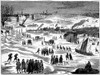 Thames: Frost Fair, 1684. /Nthe Frost Fair On The Frozen Thames River In England During The Severe Winter Of 1683-84. Wood Engraving, 19Th Century, After A Contemporary Woodcut. Poster Print by Granger Collection - Item # VARGRC0065253
