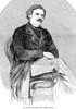Daniel D. Home (1833-1886). /Ndaniel Dunglas Home. Scottish Spiritualist Medium. Line Engraving, American, 1857. Poster Print by Granger Collection - Item # VARGRC0045194