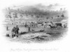 Victoria, Australia, 1856. /Nspring Hill, From The Road To Government Camp, Creswick'S Creek: Steel Engraving, Australian, 1856. Poster Print by Granger Collection - Item # VARGRC0063967