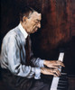 Sergei Rachmaninoff /N(1873-1943). Russian Pianist, Composer, And Conductor. Oil Painting By Boris Chaliapin (1904-1979). Poster Print by Granger Collection - Item # VARGRC0054484