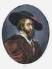 Peter Paul Rubens /N(1577-1640). Flemish Painter. Line And Stipple Engraving, English, 1826. Poster Print by Granger Collection - Item # VARGRC0104159