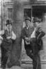 Texas: Galveston, 1900. /Ni. Lovenberg, Charles Vidor And Milton Potter Talking On 22Nd Street Near Strand In Galveston, Texas. Photograph, 1900. Poster Print by Granger Collection - Item # VARGRC0216256