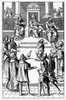 Medieval Tribunal. /Namende Honorable Before The Tribunal. Wood Engraving After A Line Engraving From 'Praxis Rerum Civilium' By Josse Damhoudere, Published 1557 In Antwerp. Poster Print by Granger Collection - Item # VARGRC0093285