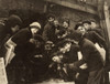 Boys Shooting Craps, C1910. /Ngroup Of Boys Newsboys Gambling With Dice In The Paper Alley In Rochester, New York. Photograph By Lewis Hine, C1910. Poster Print by Granger Collection - Item # VARGRC0125810