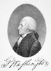 George Washington /N(1732-1799). First President Of The United States. Aquatint, Early 19Th Century, After Ellen Sharples. Poster Print by Granger Collection - Item # VARGRC0089525