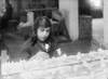 Boston: Flower Factory. /Na Girl Worker At The Beston Floral Supply Company, Boston, Massachusetts. Photograph By Lewis Hine, 29 January 1917. Poster Print by Granger Collection - Item # VARGRC0107544
