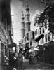 Egypt: Cairo. /Na Busy Narrow Street Near The El-Mu'Ayyad Mosque In Cairo, Egypt. Photograph, Mid Or Late 19Th Century. Poster Print by Granger Collection - Item # VARGRC0120767