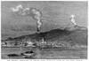 Sicily: Mount Etna, 1886. /Nthe Recent Eruption Of Mount Etna, Sicily. Line Engraving, 1886. Poster Print by Granger Collection - Item # VARGRC0099508