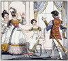 Cinderella And Slipper /Ncinderella About To Try On The Glass Slipper. English Book Illustration, C1825. Poster Print by Granger Collection - Item # VARGRC0038160