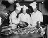 Senate Restaurant, 1942. /Nchefs At The United States Senate Restaurant Prepare A Lunch Of Dehydrated Foods For The Senators, Washington D.C. Photograph By George Danor, December 1942. Poster Print by Granger Collection - Item # VARGRC0410220