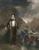 George Gordon Byron /N(1788-1824). Sixth Baron Byron. English Poet. At The Age Of 19. Steel Engraving, English, 1830, After A Painting By George Sanders. Poster Print by Granger Collection - Item # VARGRC0058887