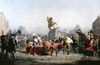 King George Iii Statue, 1776. /Npulling Down The Statue Of King George Iii In New York. Oil On Canvas By William Walcutt, 1854. Poster Print by Granger Collection - Item # VARGRC0023590
