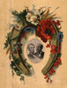 Lincoln And Garfield. /Nmemorial Card For Assassinated Presidents Abraham Lincoln And James Garfield, C1881. Poster Print by Granger Collection - Item # VARGRC0322887