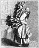Parisian Street-Crier, C1740. /Na Parisian Street-Crier Offering Bundles Of Wood For Sale. Wood Engraving, French, 19Th Century, After An Engraving, C1740, Designed By Edm_ Bouchardon. Poster Print by Granger Collection - Item # VARGRC0322410