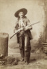 Cowboy, 1880S. /Nan Unidentified Cowboy Photographed In New York City In The 1880S, Probably A Member Of Buffalo Bill'S Wild West Troupe. Poster Print by Granger Collection - Item # VARGRC0012724