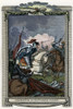 Henry Vii (1457-1509). /Nking Of England, 1485-1509. Henry (Center, On White Horse) At The Battle Of Bosworth Field, 22 August 1485. Copper Engraving, English, 18Th Century. Poster Print by Granger Collection - Item # VARGRC0036019